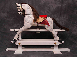Wooden rocking horse from Garry Evans & Company - Kildare, Ireland